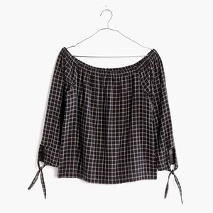 Madewell Off-The Shoulder Top